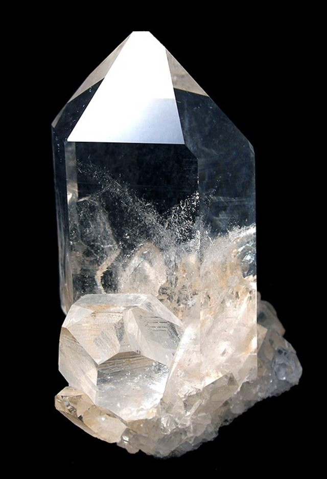 The Ones Pictured - Very Glassy From Arkansas Six Gemmy Smaller Quartz Crystals