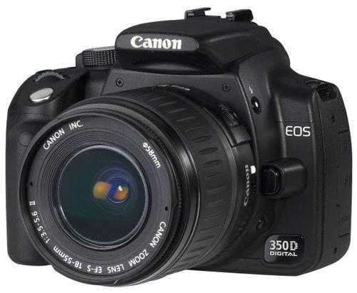Canon Eos 350d Digital Rebel Xt Kiss Digital N Used On Mindatorg